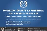 Visita presidente del CIN