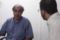 Walter Díaz, candidato por la lista Compromiso y Dignidad Docente