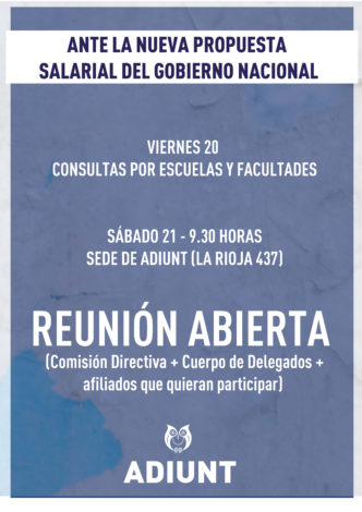 ANTE LA CONTRAPROPUESTA DEL GOBIERNO NACIONAL-01-01